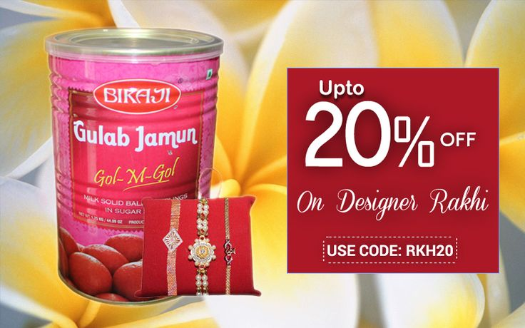 Celebrate Rakhi with great fervour this year and make your brother/sister feel special with a gift as 'Your thought' really counts on the occasion@handi