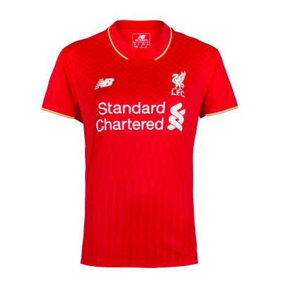 LFC 15/16 Ladies Short Sleeve Home Shirt, £49.99