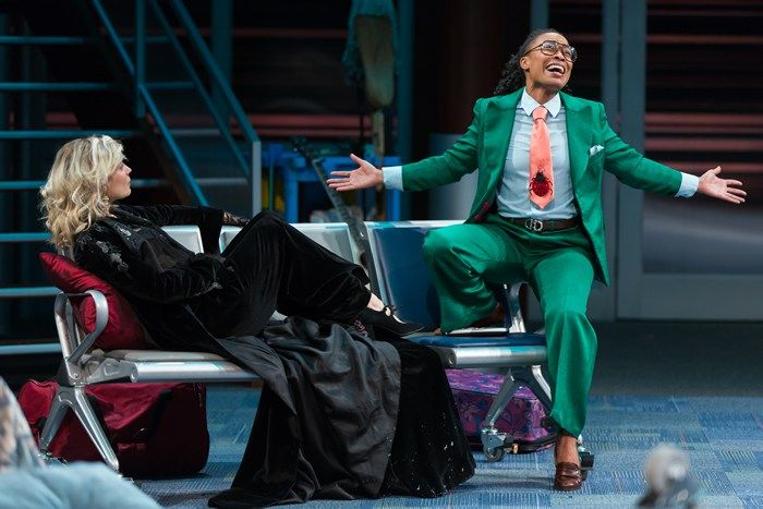 Twelfth Night  - Shakespeare Theatre Company (look at that SUIT)