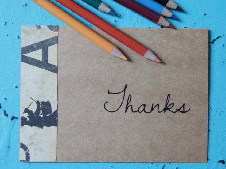 Thank You Cards, Thank You Notes, Blank Notecards, Notecards, Custom Thank You Cards, Kraft Paper, Scrabble, Lined Envelopes, Stationery by SweetTartsBoutique on Etsy