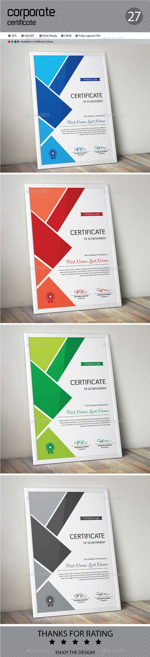 Certificate Template Vector EPS. Download here: http://graphicriver.net/item/certificate/13339597?ref=ksioks
