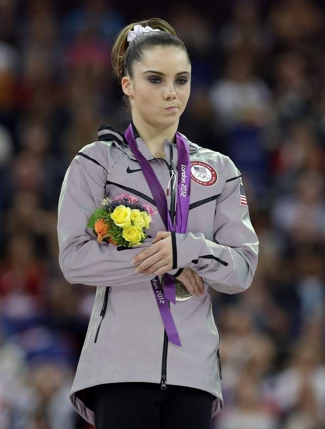 mckayla maroney... Not Impressed