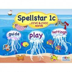 Spell Star 1c - CCVC and CVCC Words