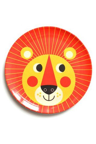 inglea p arrhenius lion plate by OMM Design