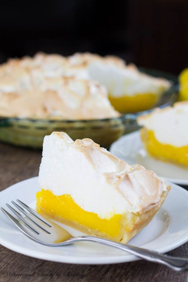 Fool-proof lemon meringue pie recipe that everyone can make. No more weeping, no more shrinking! Perfect pie every time. This is the BEST!