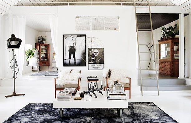 Nils and Sofia Odier's home in Skåne, Sweden (Residence magazine, styling Lotta Agaton, photo Pia Ulin) – Husligheter.se