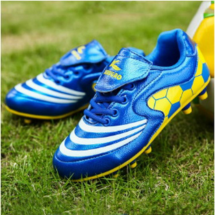 2017 Alta De Tobillo Botines De Futbol High Quality Non-slip Soccer Sports Shoes Outdoor Training Sneakers Sale In China