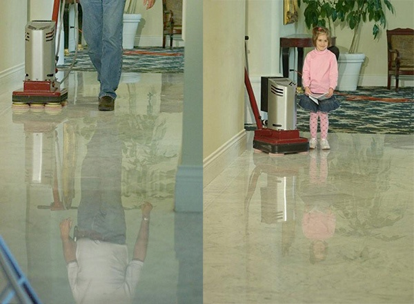 Restoration of Marble and Natural Stone Floors