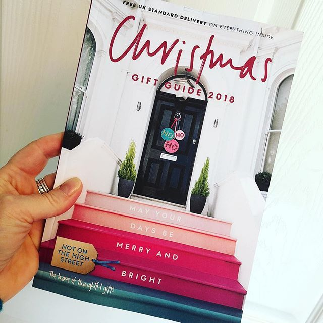 Ooh This Just Dropped On My Door Mat The Brand New Notonthehighstreet Christmas Gift Guide Oh My Its Christmas Gift Guide Illustrated Gift Xmas Gift Guide