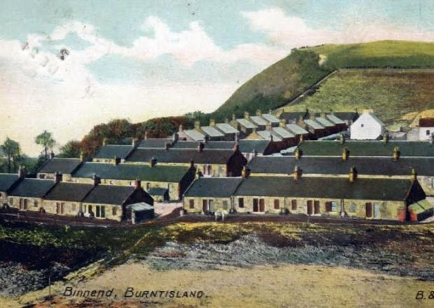 Binnend, near Burntisland, Fife. Pic: Burntilsand Heritage Trust