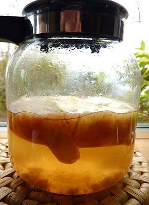 Appel schil thee (goed voor maag, stimuleert de nieren, dagelijks drinken voor arthritis & jicht)