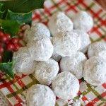 ***Pecan Meltaway Balls - Utiliser cette recette pour former les biscuits en forme de hérisson.