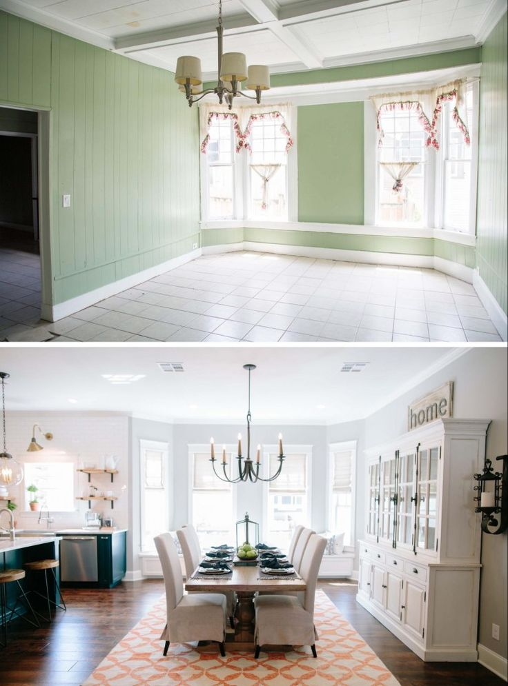 Fixer Upper Season 3 | Chip and Joanna Gaines House Renovation | The 3 Little Pigs House | Dining Room Remodel | Dining Table