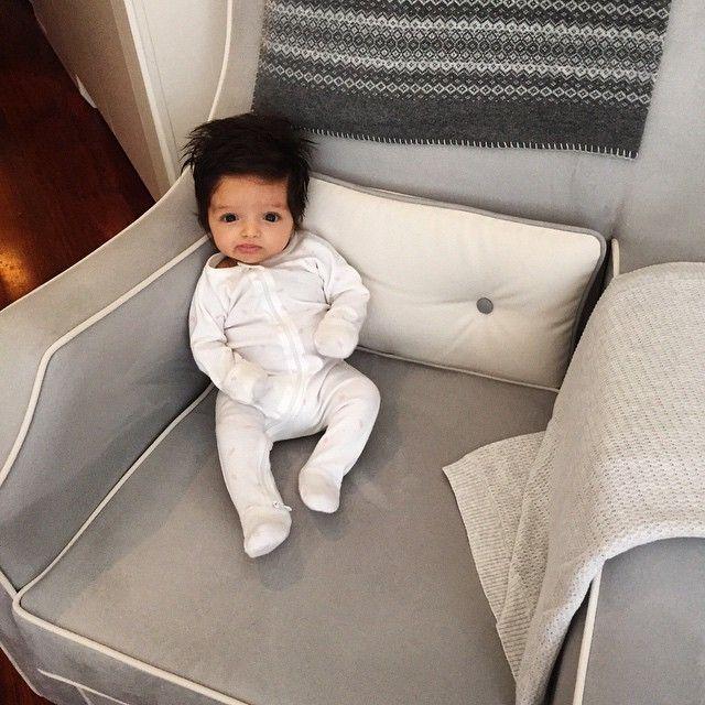@babysamtani   #nursingchair #OlliElla #bedhead #baby #seedheritage #seedheritagebaby #babysamtani #bighairdontcare @purebabyorganic @Olliella