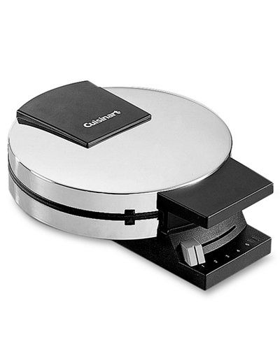 The stainless steel waffle maker from Cuisinart with nonstick plates makes four triangular sections at a time. Includes manufacturer's limited warranty. Style Wmr-c. | Imported | Savings may not be ba