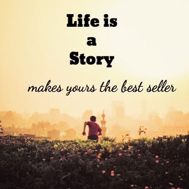 Life is a story  http://solvedpuzzle.com/life-story/