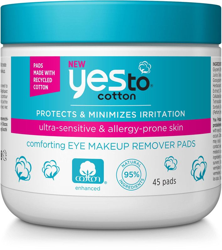 Yes to Cotton Comforting Skincare for Spring 2017 - Yes To Cotton Comforting Eye Makeup Remover Pads