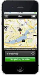 Need a taxi? Call #uber !