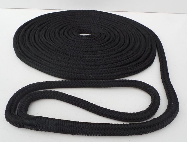 Navy dock line mooring rope #double #braid 8m x 10mm boat #dockline  ks12,  View more on the LINK: 	http://www.zeppy.io/product/gb/2/111916172576/