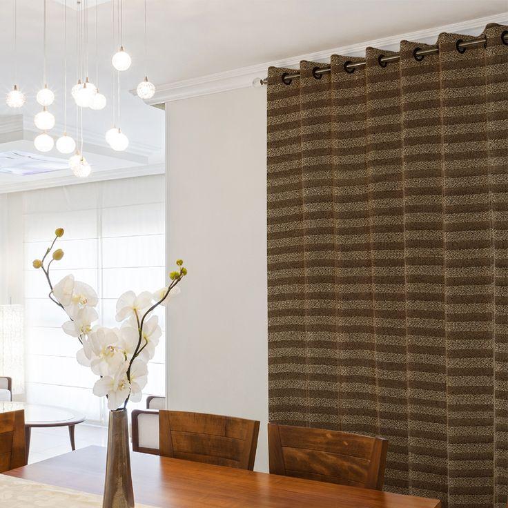 Las cortinas correctas le dan un muy buen ambiente a tus espacios.