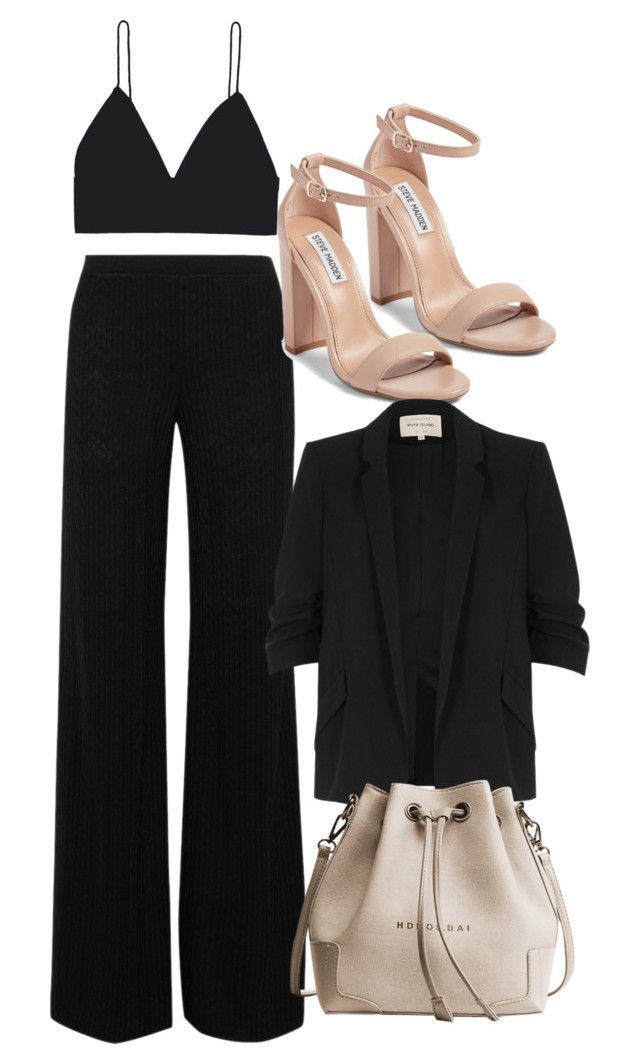 """""""Untitled #595"""" by strangebirdd ❤ liked on Polyvore featuring Missoni, Steve Madden and River Island"""