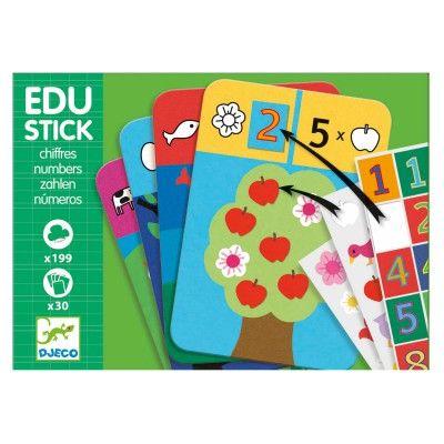Jeu Eduludo Djeco : Edu Stick 1,2,3 - Djeco-08375