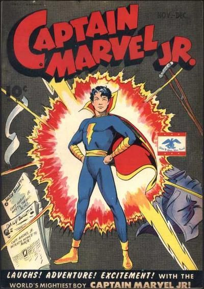 Captain Marvel Jr | captain marvel jr 23 captain marvel jr banner
