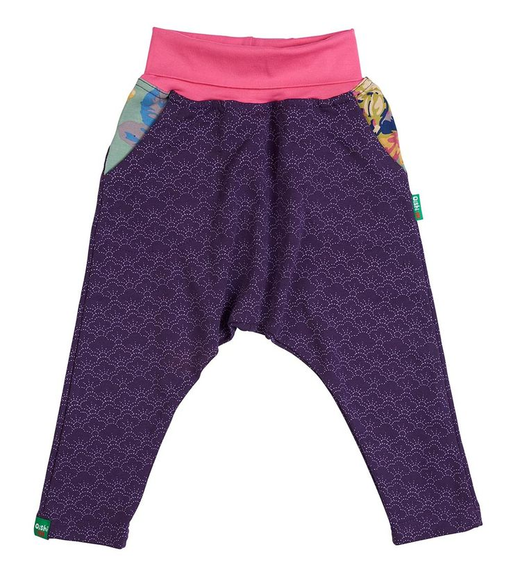 Mighty Girl Slouchy Pant, Oishi-m Clothing for Kids, Autumn 2018, www.oishi-m.com
