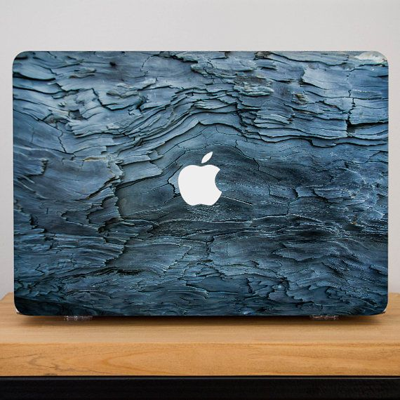 MacBook Air 13 Case 3D textures Blue bark Old Tree Design  MacBookPro Retina 15 No CD Hard Clear Plastic Case Macbook Air 11 Pro 13 with CD