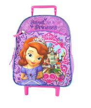 Disney's Princess Sofia the First Small 12 inch Rolling Backpack