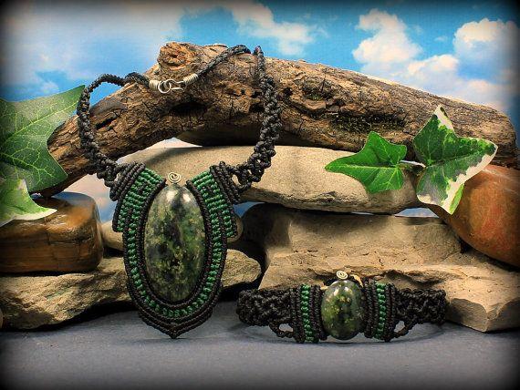 Serpentine Kundalini Awakening necklace & by MundialTreasures
