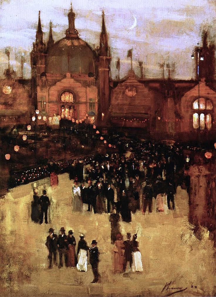 John Lavery - The Glasgow International Exhibition 1888