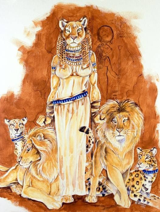 legends egyptian cat god - photo #16