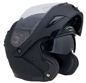 GMax flip up Modular Motorcycle Helmet with dual visors