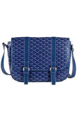Goyard Messenger Bag MM Blue #bagsandpurses
