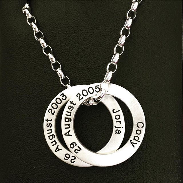 #loveloops #cherish #2kids #heavychain #satinfinish #mediumloveloop  LoveLoops | Exquisite Jewellery ...with Love www.loveloops.co.nz