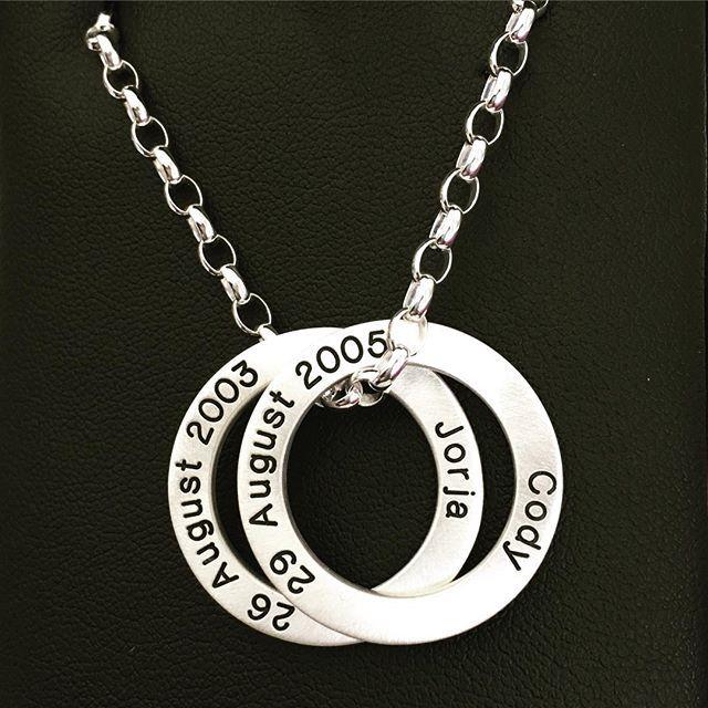 #loveloops #cherish #2kids #heavychain #satinfinish #mediumloveloop  LoveLoops | Exquisite Jewellery ...with Love www.loveloops.co.nz