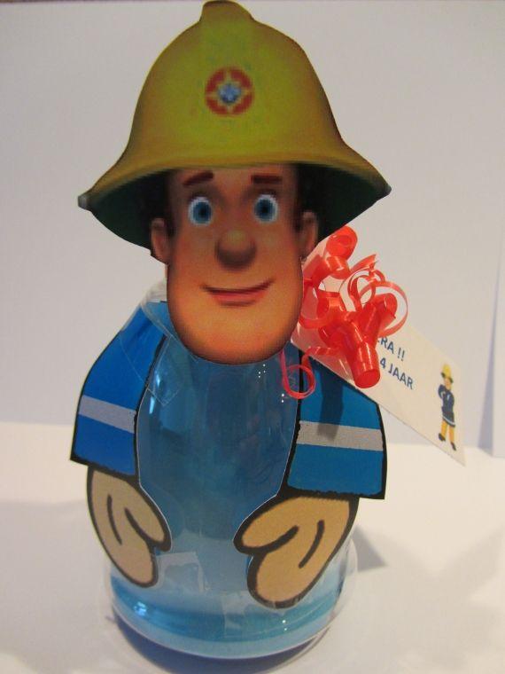 Brandweerman Sam flesje
