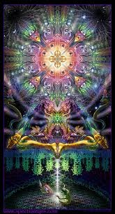 Alex Grey Art~It feels blissful, illuminated and shows one with an awakened, illuminated soul.