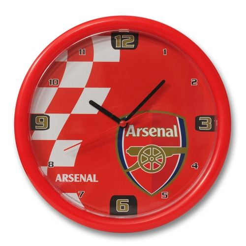 arsenal wallclock Arsenal London Official Merchandise Available at www.itsmatchday.com
