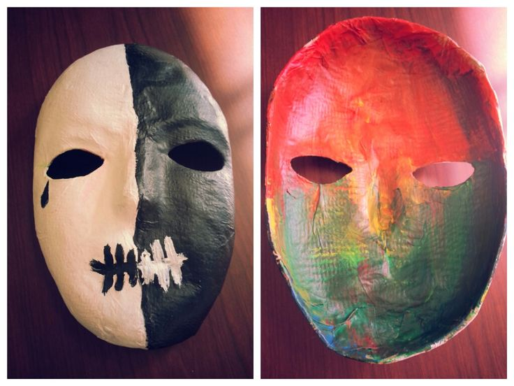 Mask-making project. Blog has additional resources for art therapy type projects.