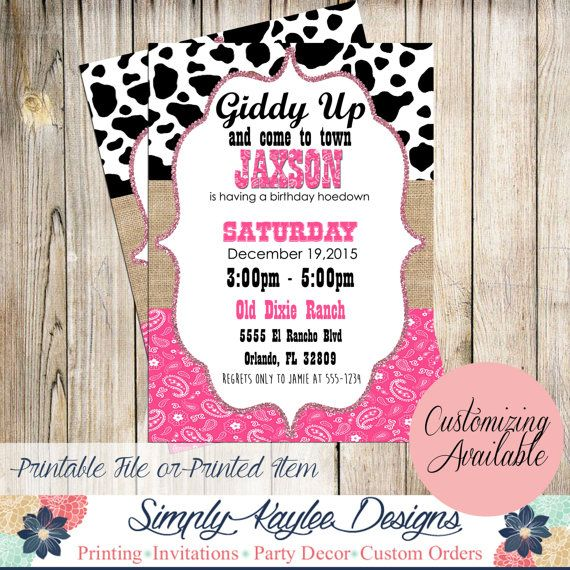 d0ee7331a7d2f4375c20383c394a6084 cowgirl birthday party ideas cowgirl party best 25 cowgirl birthday invitations ideas that you will like on,Free Printable Cowgirl Birthday Invitations
