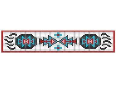 Native Bead Work Free Patterns   Loom Beadwork Pattern Native American Bear by LameBearBeadwork