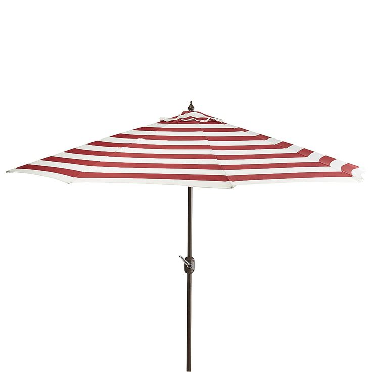 Multi Colored Dover Aluminum Tilting Umbrella   Cherry 7u0027   Outdoor