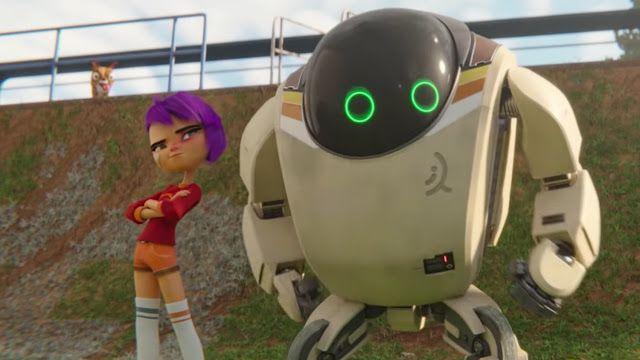 Una Nina Y Su Robot Salvan El Mundo En El Trailer De La Nueva Pelicula Animada De Netflix Next Gen Pelicula De Netflix Nuevas Peliculas Netflix