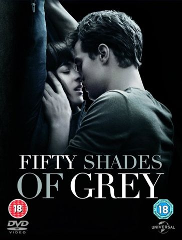 Living Room: fifty shades of grey dvd
