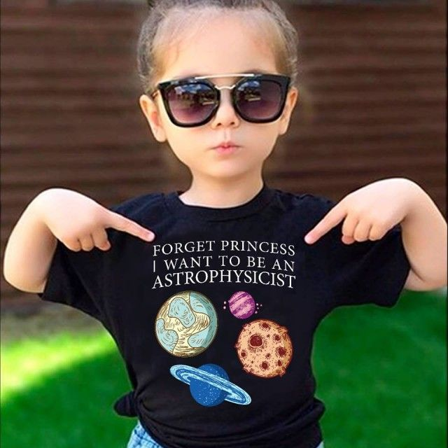 Image result for forget princess i want to be an astrophysicist