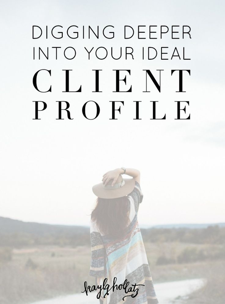 Digging Deeper Into Your Ideal Client Profile | Kayla Hollatz: Community Coach for Creatives