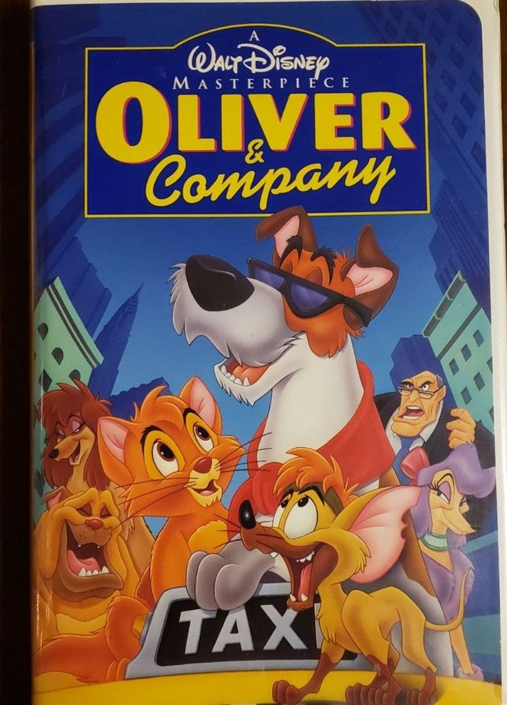 Disney Oliver and Company VHS Tape in 2020 (With images