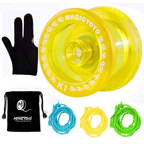 MAGICYOYO Responsive YoYo K1-Plus with Yoyo Sack 3 Strings and Yo-Yo Glove ...